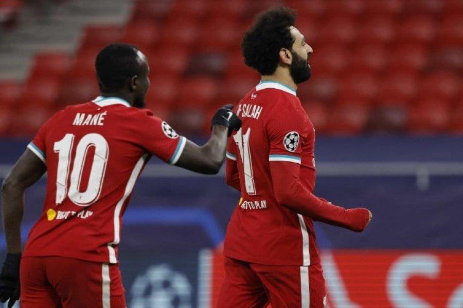 Liverpool eliminó a Leipzig y avanzó a los cuartos de final