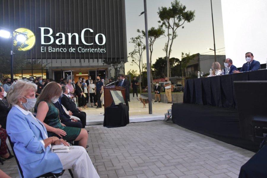 Inauguraron la nueva sede del Banco de Corrientes
