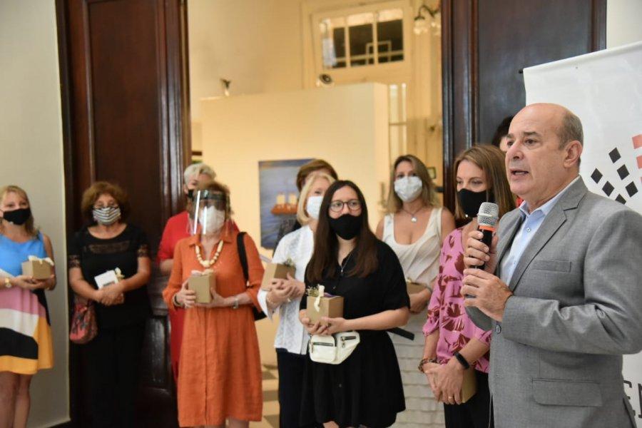 El Senado También es Cultura homenajeó a las mujeres con una muestra colectiva