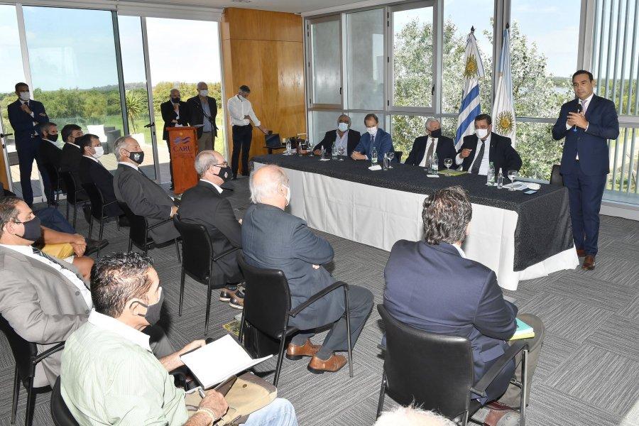 Presentaron el proyecto del puente Monte Caseros-Bella Unión
