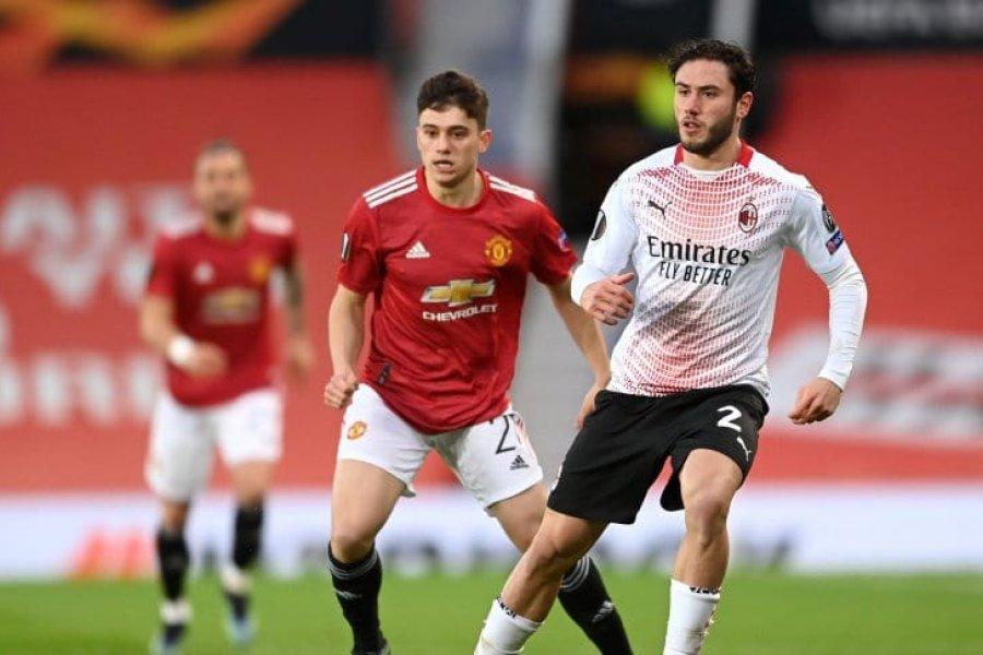 Manchester United igualó con Milan por los octavos de final de la Europa League