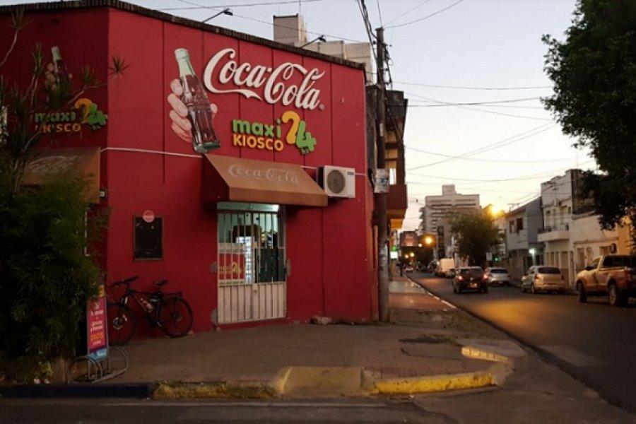 Violento intento de asalto en un maxikiosco en el barrio Libertad