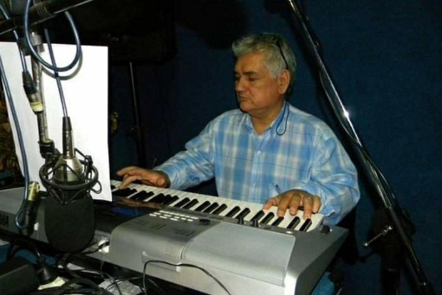 Falleció el músico y locutor Takaly celser