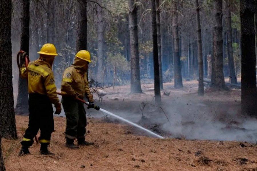 Encontraron muerto al peón desaparecido en medio de los incendios