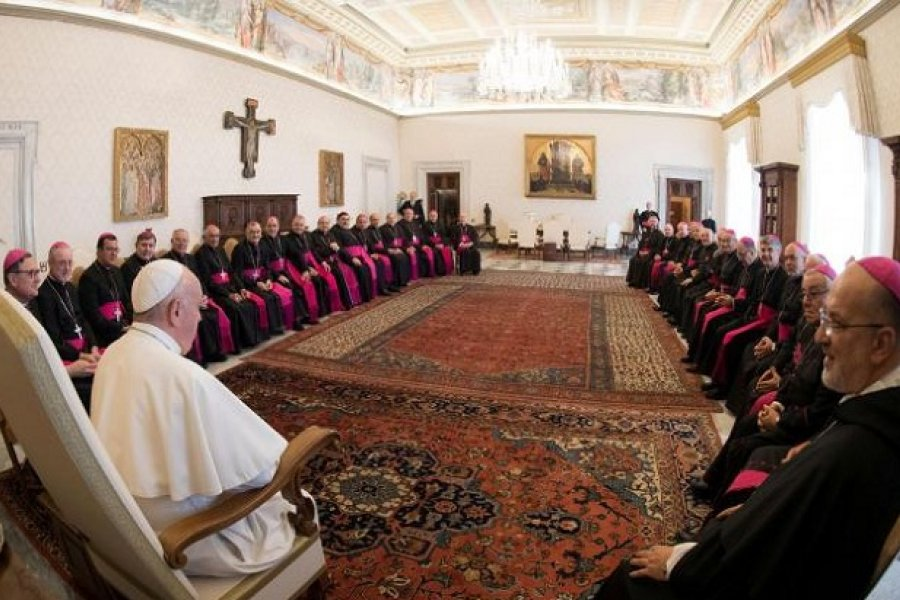 Obispo argentinos expresan su cercanía y gratitud al Papa Francisco