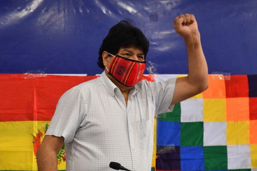 """Evo Morales celebró la detención de Áñez: """"Que se investigue y sancione a los autores de la dictadura"""""""