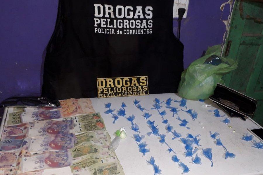 Desbarataron un kiosco de droga y detuvieron a una mujer