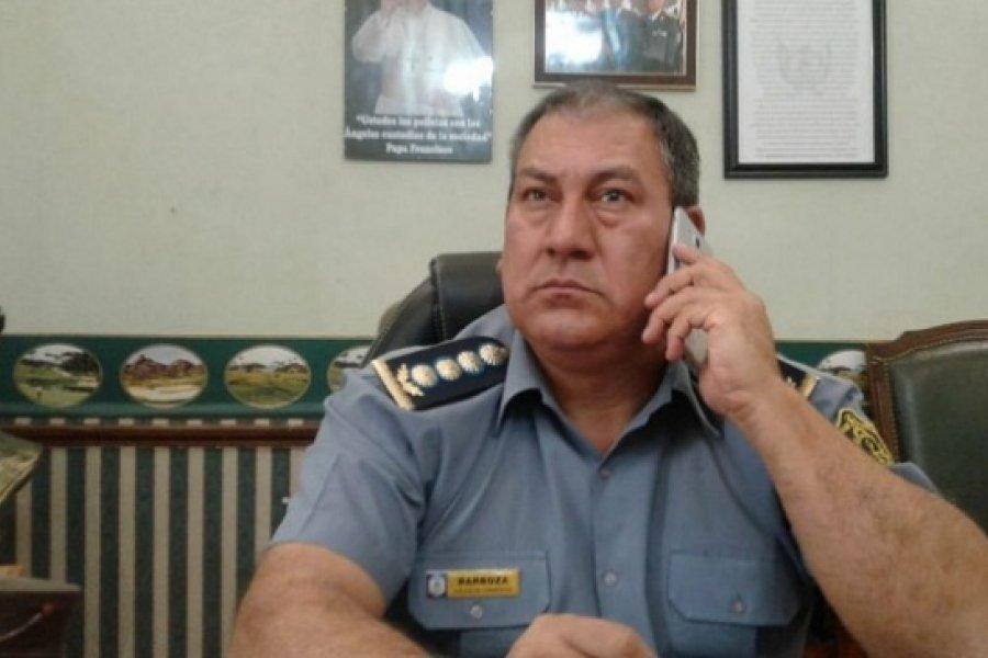 Jefe de Policía internado en el Hospital de Campaña