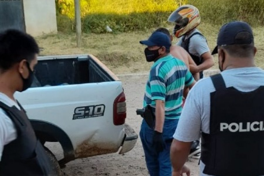 Policías detuvieron a un sujeto buscado por doble homicidio en Corrientes