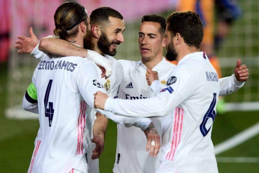 Real Madrid venció a Atalanta y clasificó a cuartos de la Champions