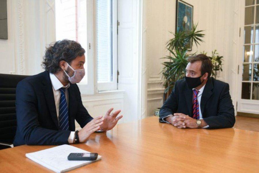 Cafiero recibió a Soria y fijaron como objetivo la transparencia judicial