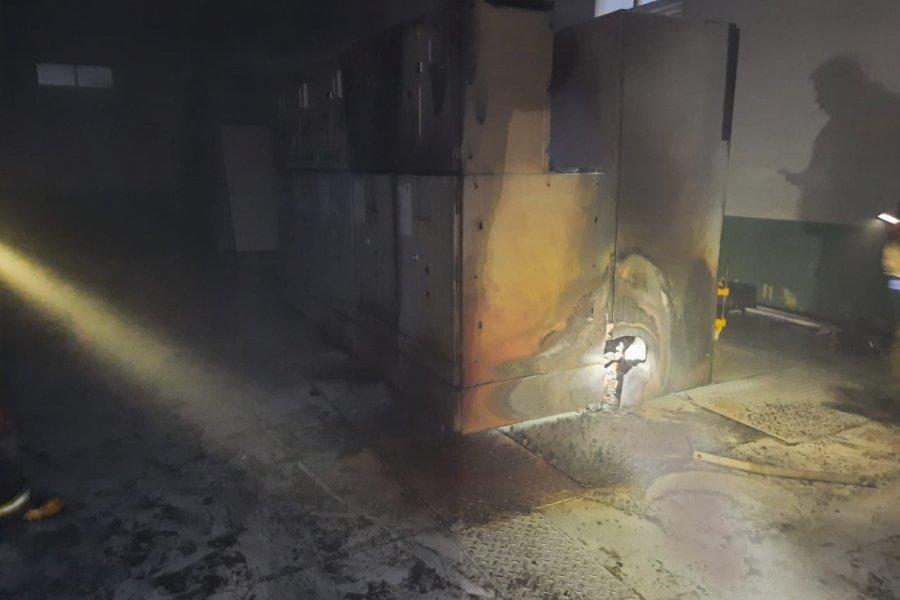 Paso de la Patria sin energía eléctrica tras la explosión de la DPEC