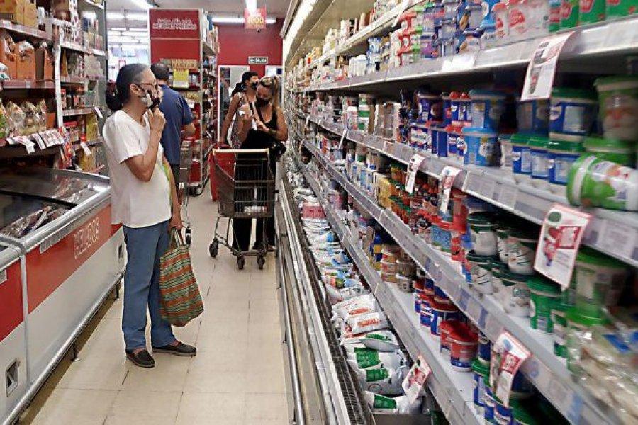 Canasta básica subió menos que la inflación por primera vez en 6 meses