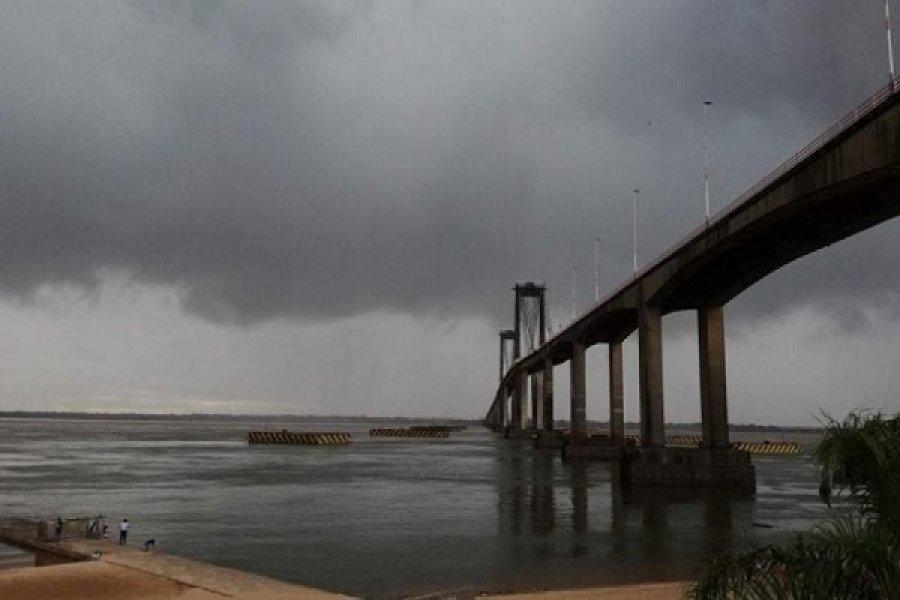 Hay pronóstico de tormentas fuertes para Corrientes