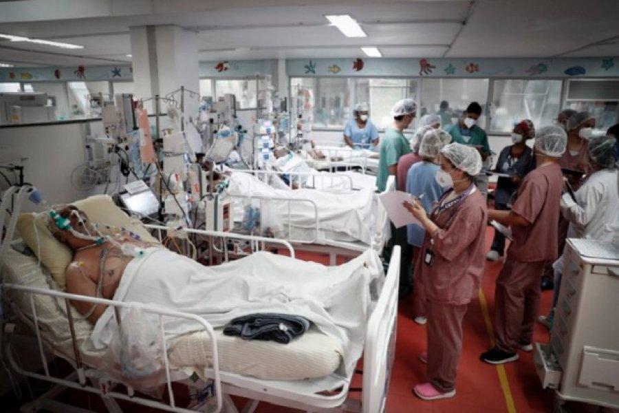 Brasil registró un nuevo récord de 2.841 muertos por Covid-19 en las últimas 24 horas