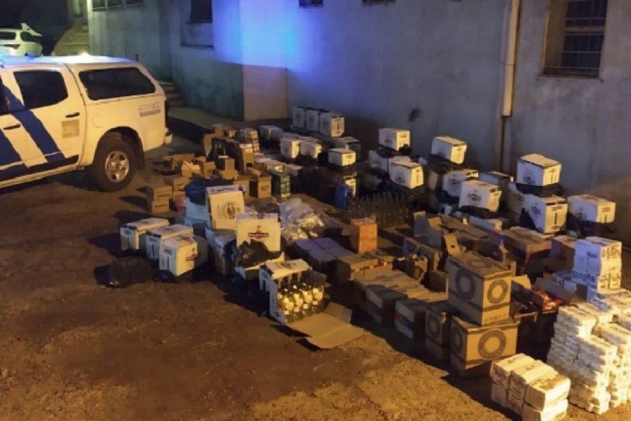 Prefectura secuestró mercadería ilegal en Monte Caseros