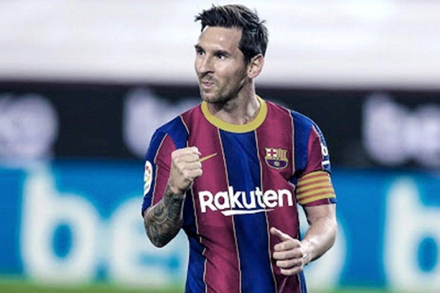 Barcelona le ofrecerá a Messi un contrato de por vida