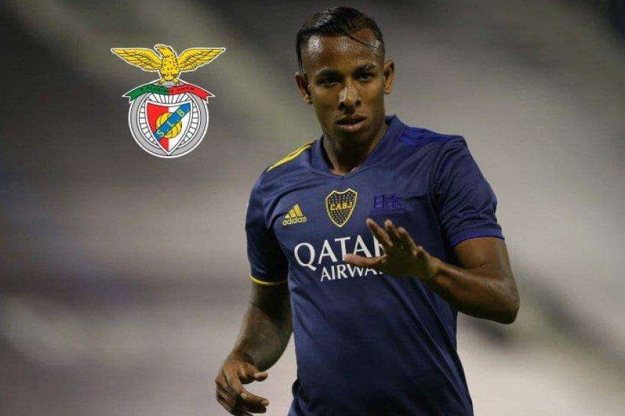 Benfica empieza a acercarse a Villa: todavía no se comunicó con Boca