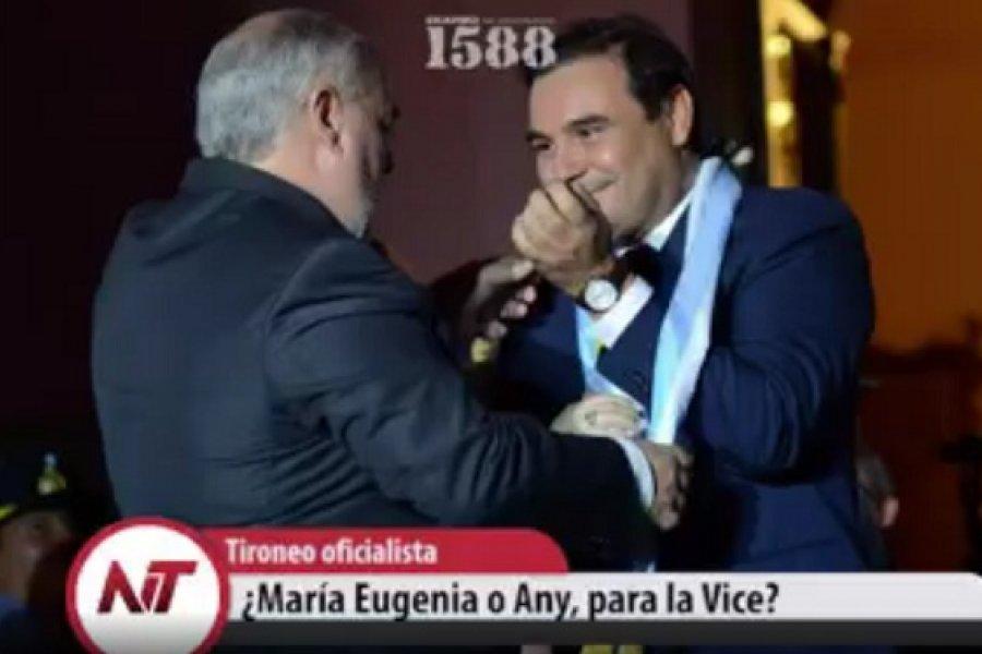 Tironeo oficialista: ¿María Eugenia o Any, para la Vice?