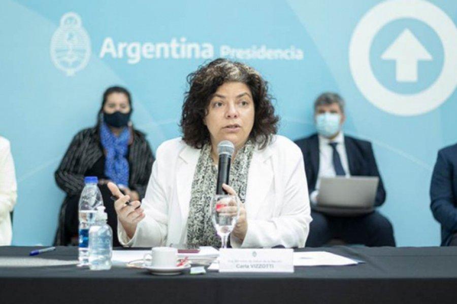 """Vizzotti: """"La segunda ola es una posibilidad concreta en la Argentina"""""""