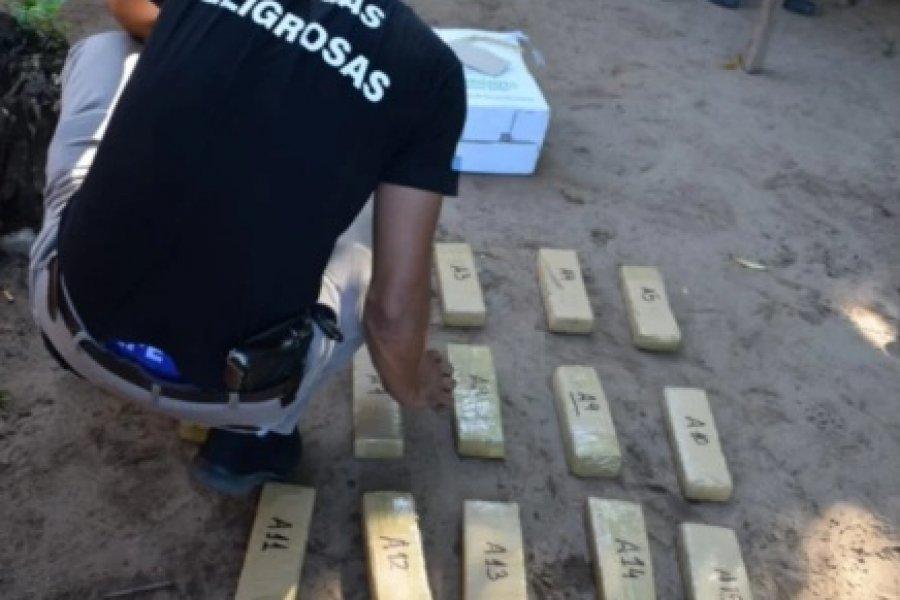 Incautaron otros 126 kilos de marihuana en Corrientes