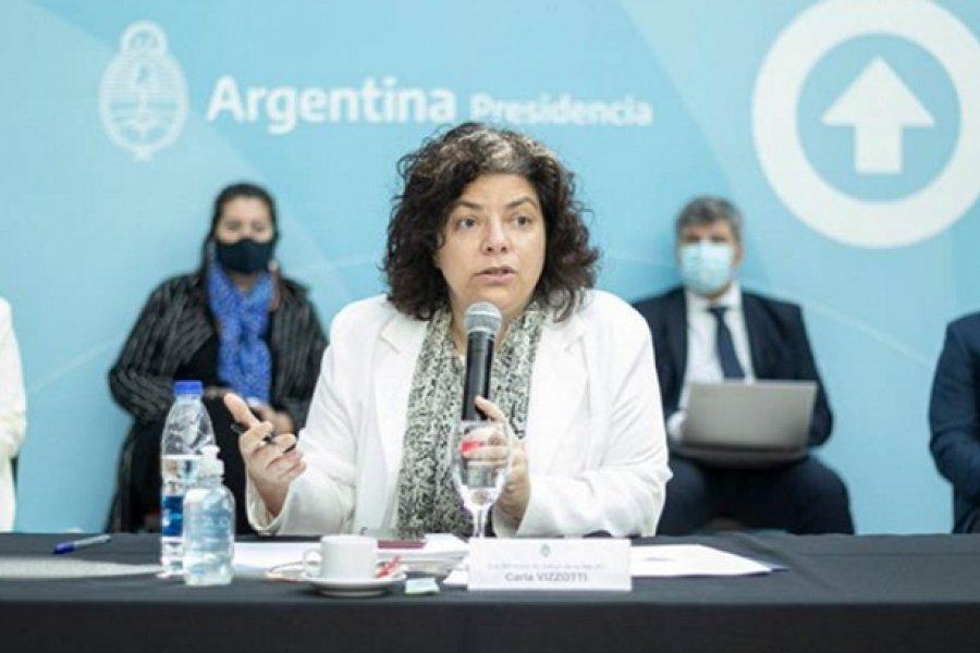 Vizzotti: La segunda ola es una posibilidad concreta en la Argentina