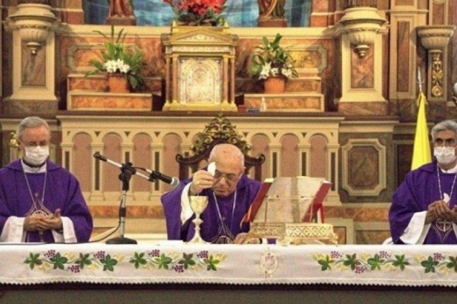 Monseñor Salvador Castagna: Cristo, única alternativa de salvación
