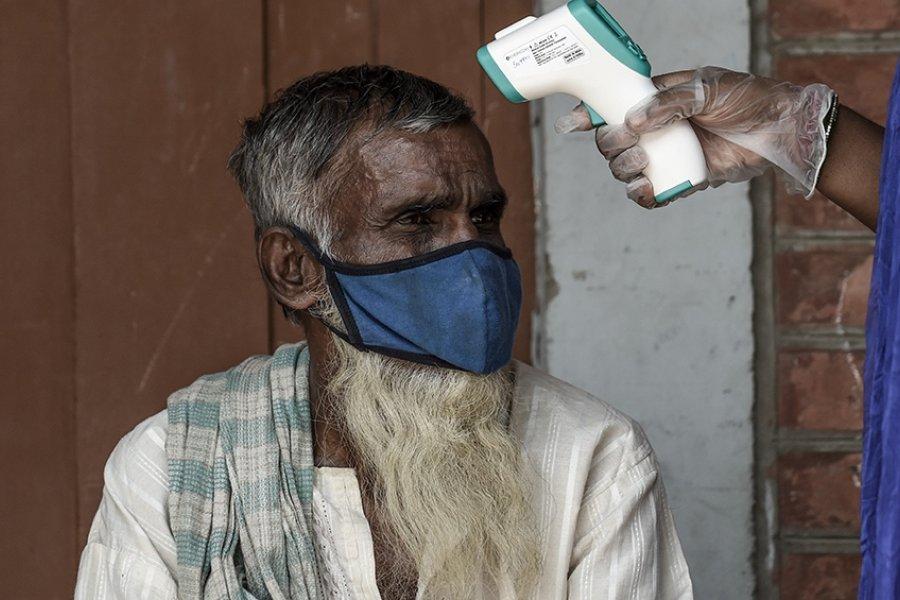 India registró la cifra de contagios más alta en cuatro meses