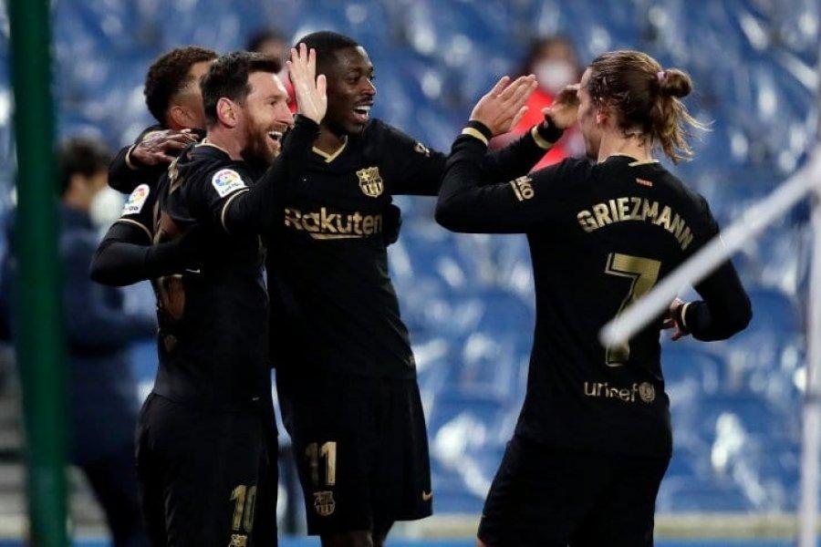 Barcelona goleó a Real Sociedad y Messi batió dos récords