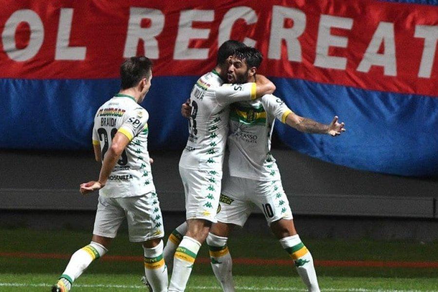 Aldosivi superó a San Lorenzo por la Copa Liga Profesional