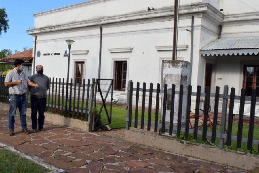 El Municipio pone a punto las oficinas de ANSES y el Parque Nacional Iberá