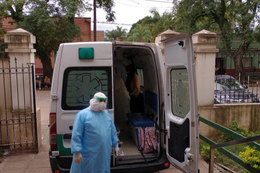 Mercedes: Derivaron a una nena de 2 años con COVID-19 al Hospital Pediátrico