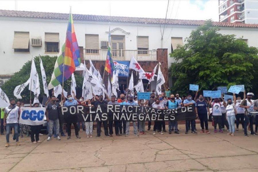 Nuevo reclamo por Vías Navegables en Corrientes