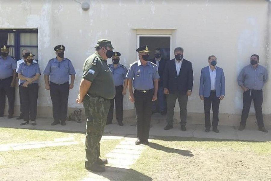 Asumió el nuevo Inspector de zona rural de Paso de los Libres y Santo Tomé