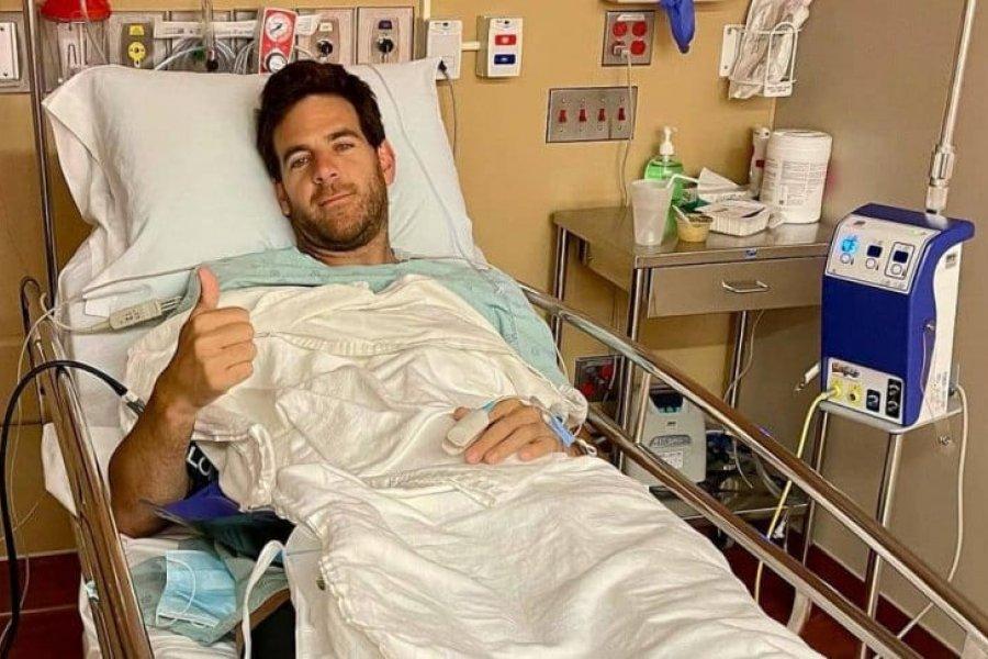 La esperanzadora publicación de Del Potro tras una nueva operación de rodilla
