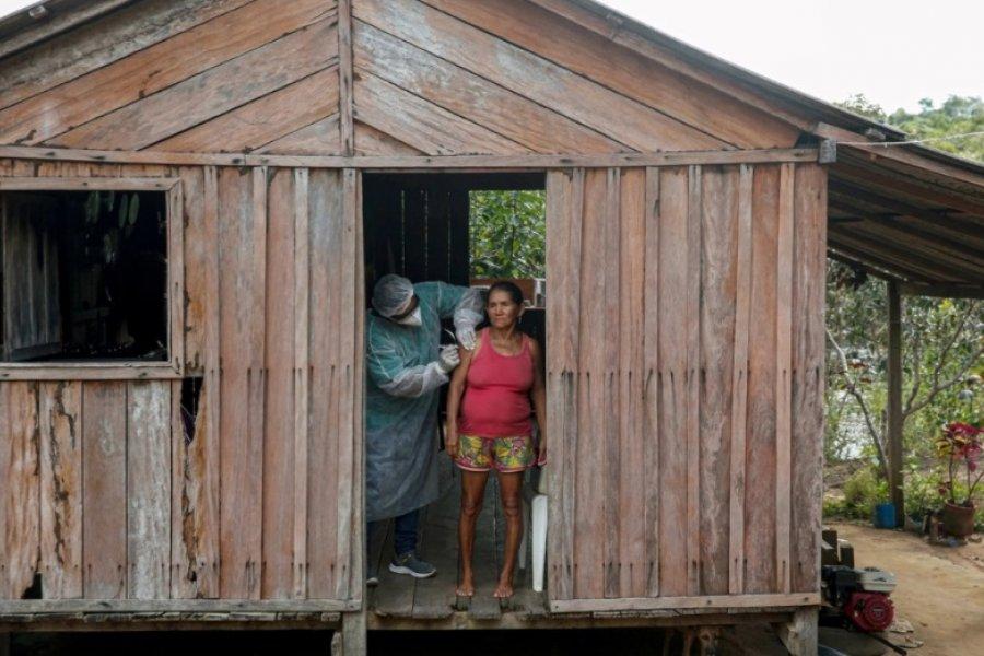 Récord en Brasil: 3.251 decesos en menos de 24 horas