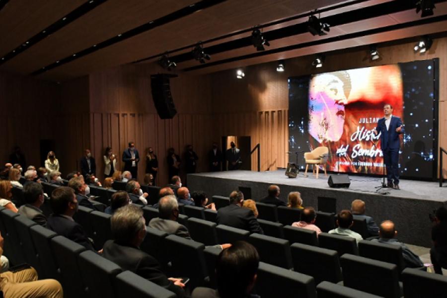 Corrientes: Se inauguró el Auditorio Julián Zini resaltando su legado