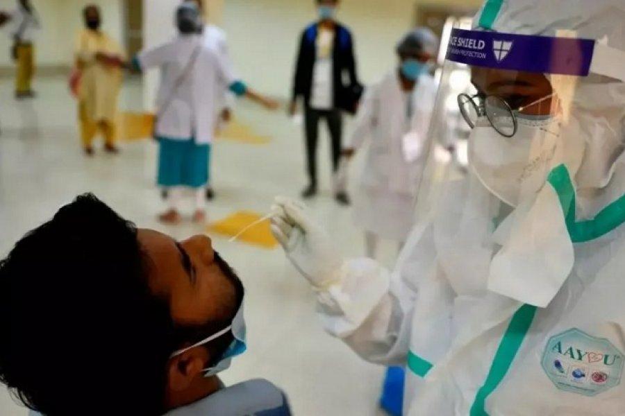India detectó una variante doble mutante de Coronavirus