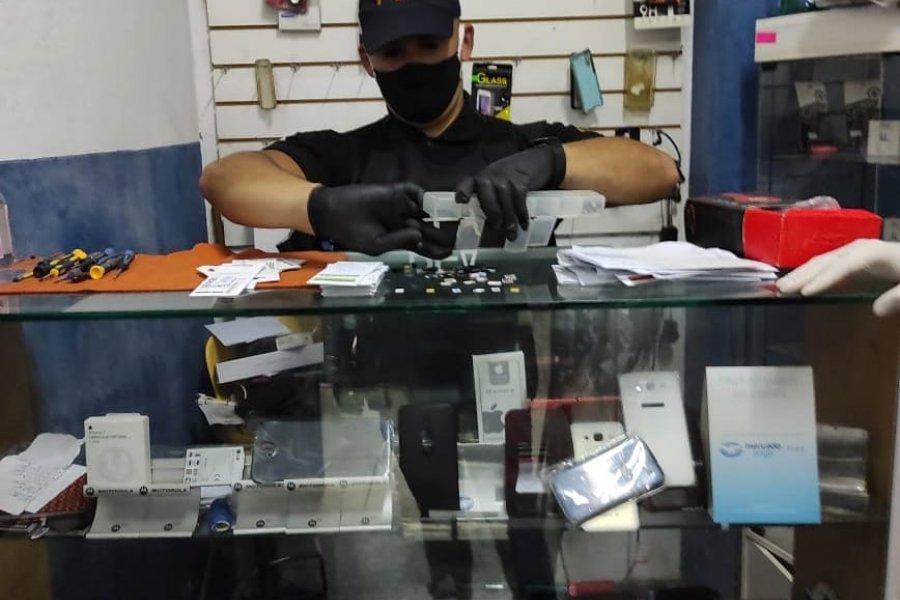 Desarticularon a una organización criminal dedicada al robo y comercialización de telefonía celular