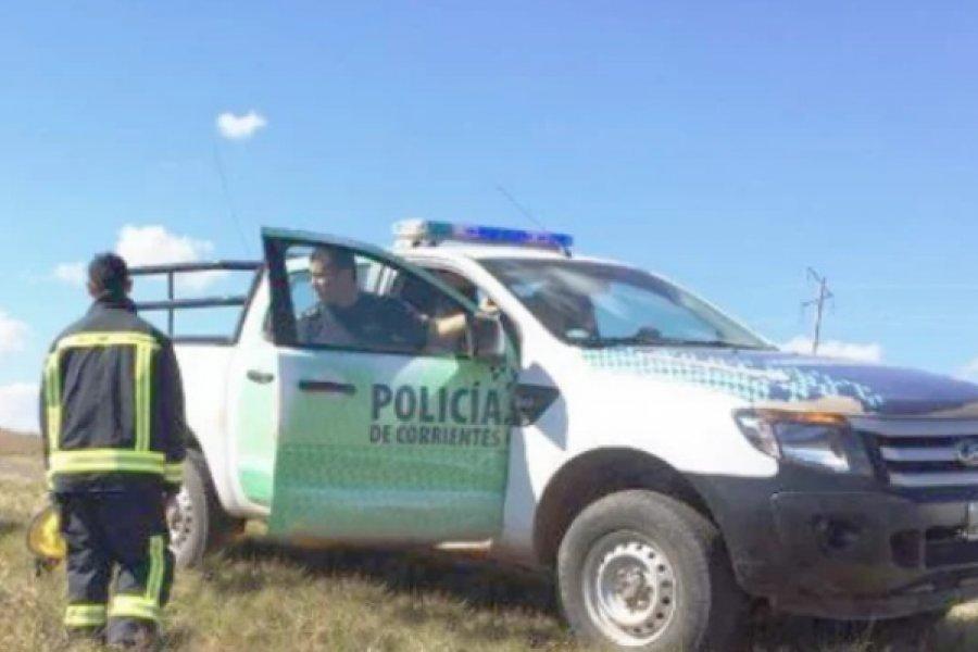 Ruta 119: Cadáver hallado en la banquina era de un anciano en situación de calle