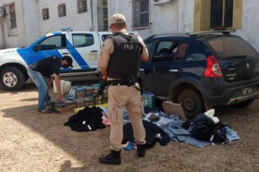Contrabando a flote: Detuvieron a un hombre que enviaba mercadería a Uruguay