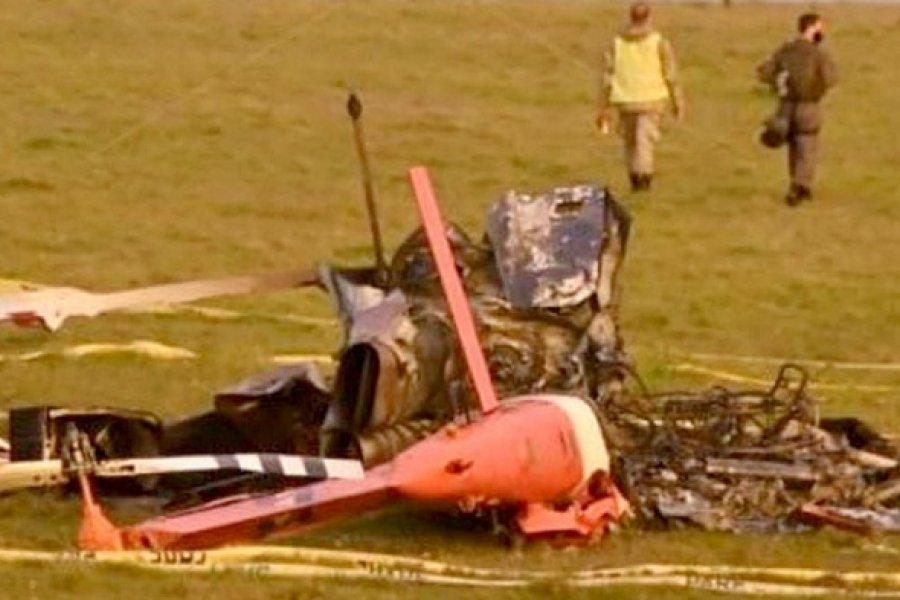Se accidentó un helicóptero que transportaba vacunas y se perdieron todas las dosis