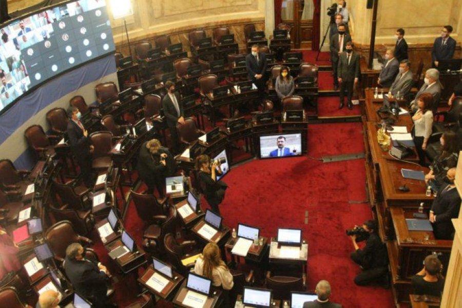 El Senado aprobó por unanimidad un proyecto sobre caducidad de partidos políticos