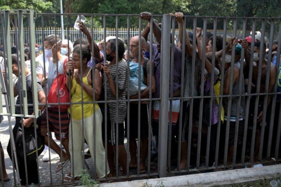 Coronavirus en Brasil: hubo más de 100 mil contagios en un solo día