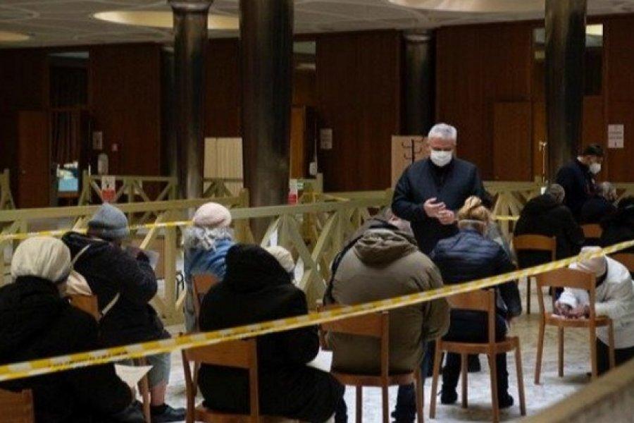 Covid-19: El Vaticano vacunará a 1.200 sin techo en la Semana Santa