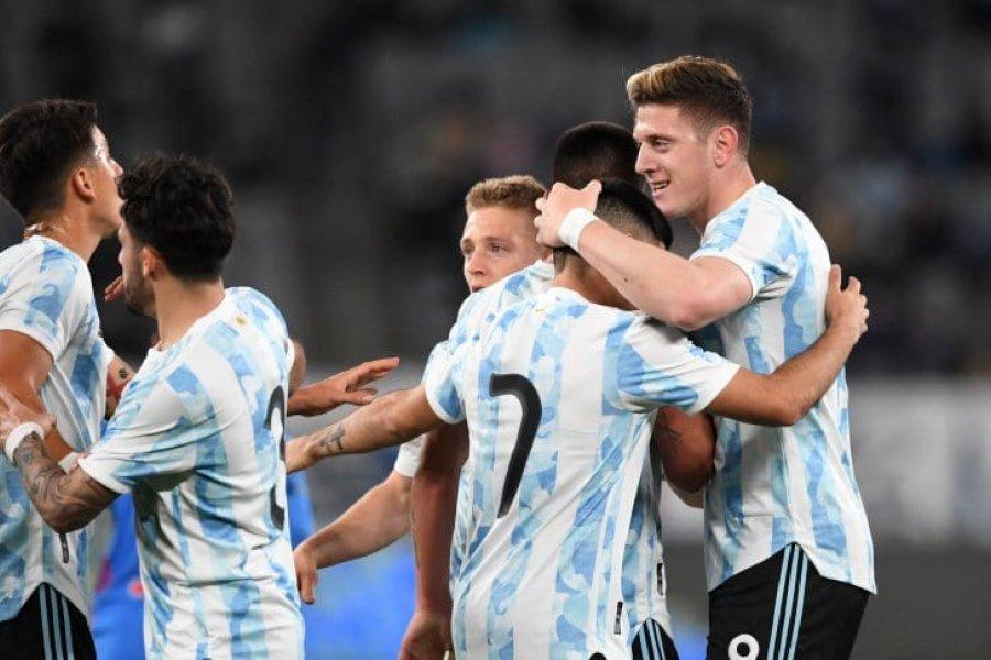 Argentina derrotó a Japón en su primer amistoso