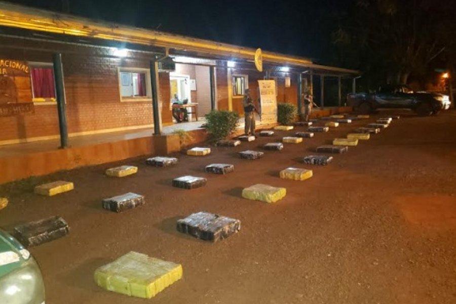Misiones: Detectan 846 kilos de marihuana acondicionados en una camioneta