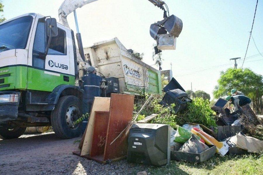 Realizarán el operativo de descacharrado en el barrio Santa Rita
