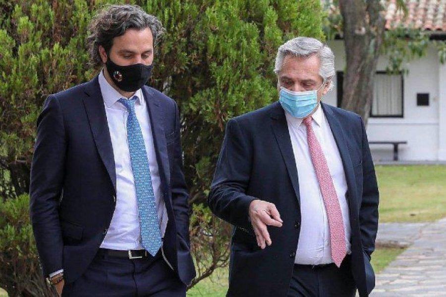 Fernández ya está reunido con Cafiero y Vizzotti para analizar nuevas medidas restrictivas