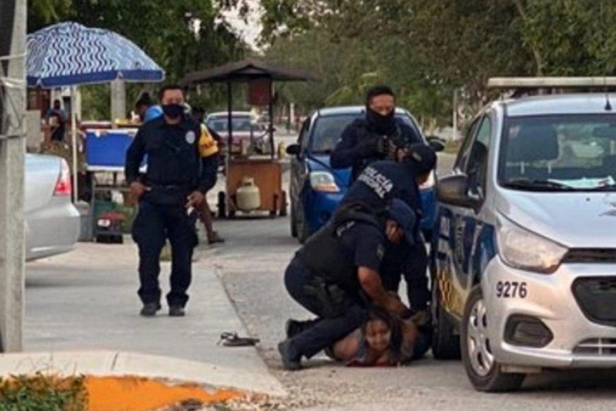 Una mujer murió tras ser sometida por la policía con la técnica del crimen de George Floyd